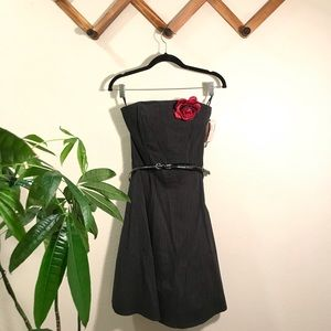 Fire Los Angeles | NWT strapless formal dr…